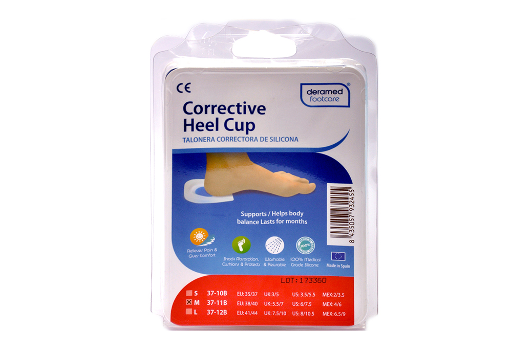 Corrective Heel Cup Size S