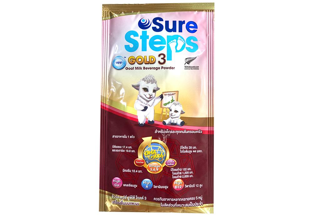 Sure Steps UPP Gold 3 Goat Milk Powder 29 G Sachet (pack 6)